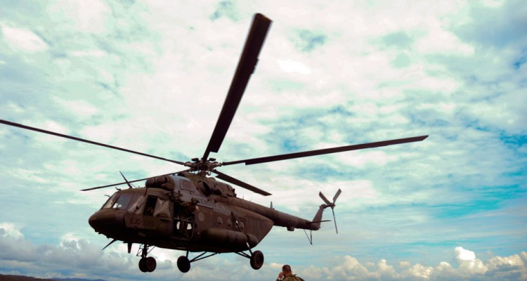 Helicoptero Militar Colombiano