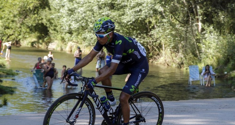 Nairo Quintana in action during Stage 5 of the 2016 Tour de San Luis