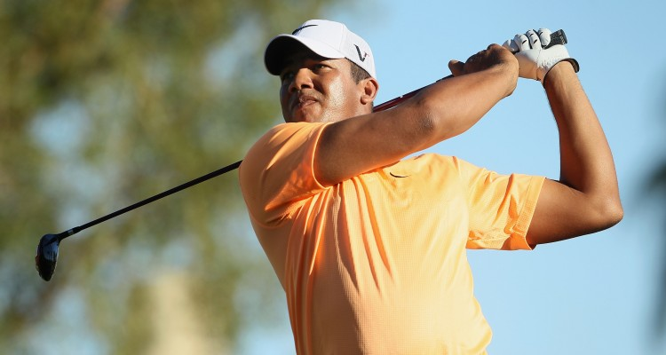 during the final round of the Bob Hope Classic at the Palmer Private course at PGA West on January 23, 2011 in La Quinta, California.