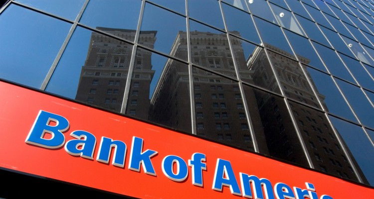 BANK OF AMERICA SIGN ON BRANCH - MIDTOWN MANHATTAN NEW YORK CITY USA