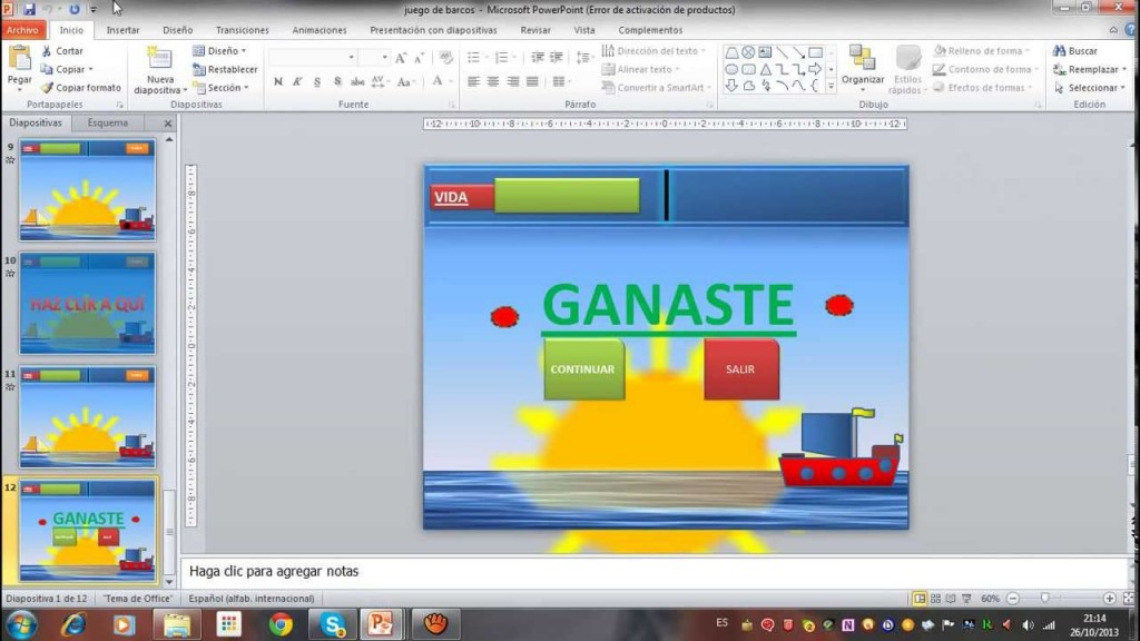juegos en power point