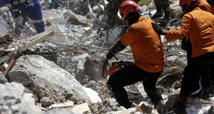 INDONESIA EARTHQUAKE AFTERMARTH 16511562