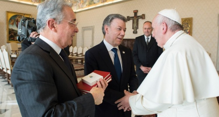 VATICAN-COLOMBIA-POPE